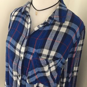 Topshop • Soft & Cozy Plaid Flannel